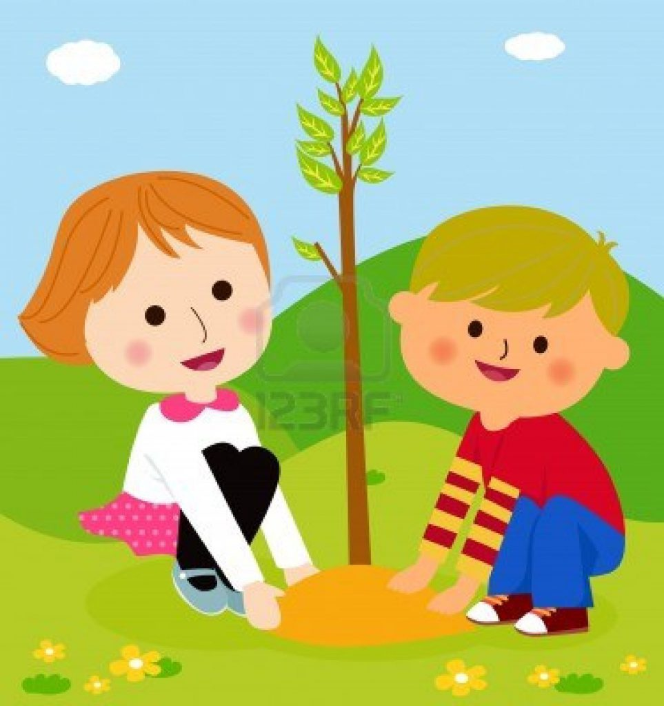 14906269-gelukkige-jonge-geitjes-is-het-planten-van-kleine-planten-cartoon